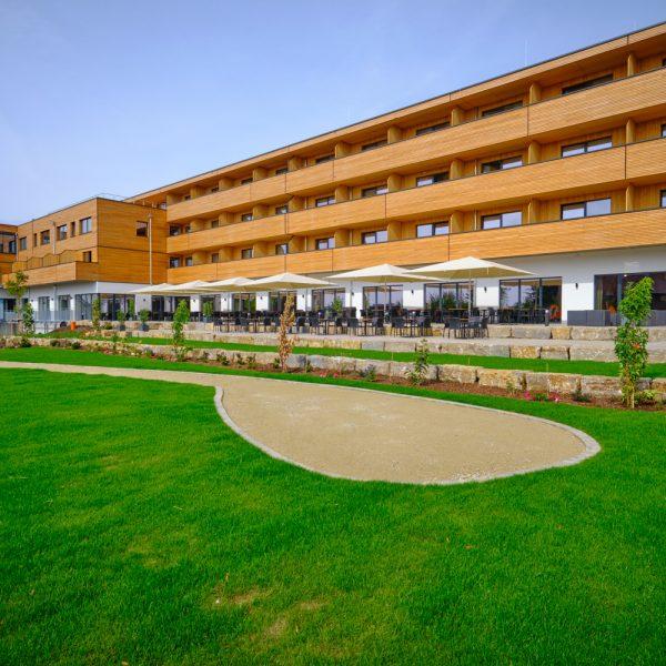 Hotelanlage von außen