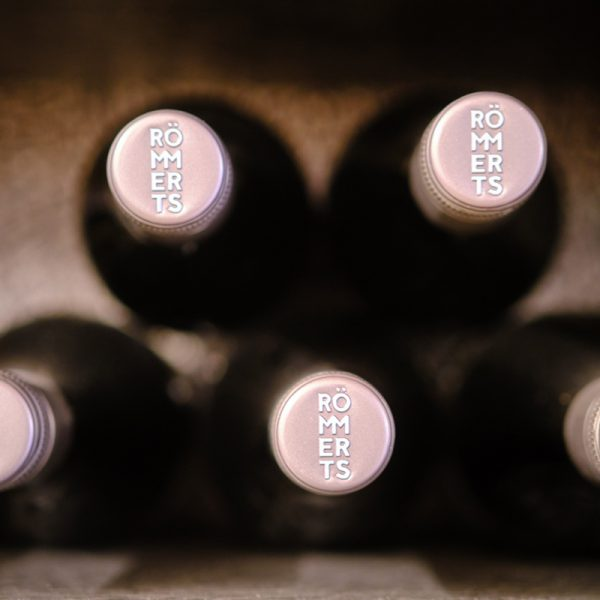 Weinflaschen aus dem Weingut Römmert