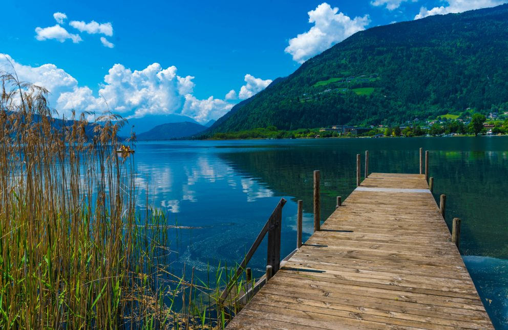 Nockberge Aussicht vom Ossiacher-See