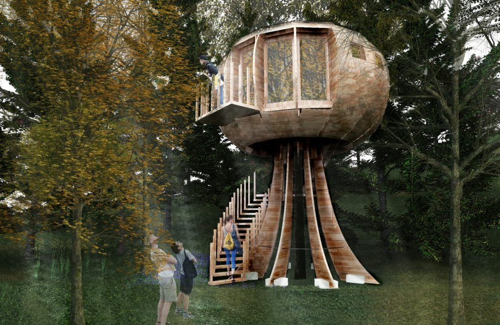 Die Baumhäuser Im Sonnenresort Ettershaus