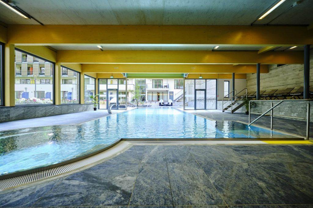 Hallen- Freibad im Hotel